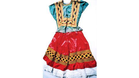 Los vestidos perdidos de Frida Kahlo