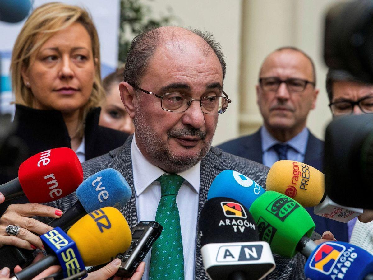 Foto: El presidente de Aragón, Javier Lambán. (EFE)