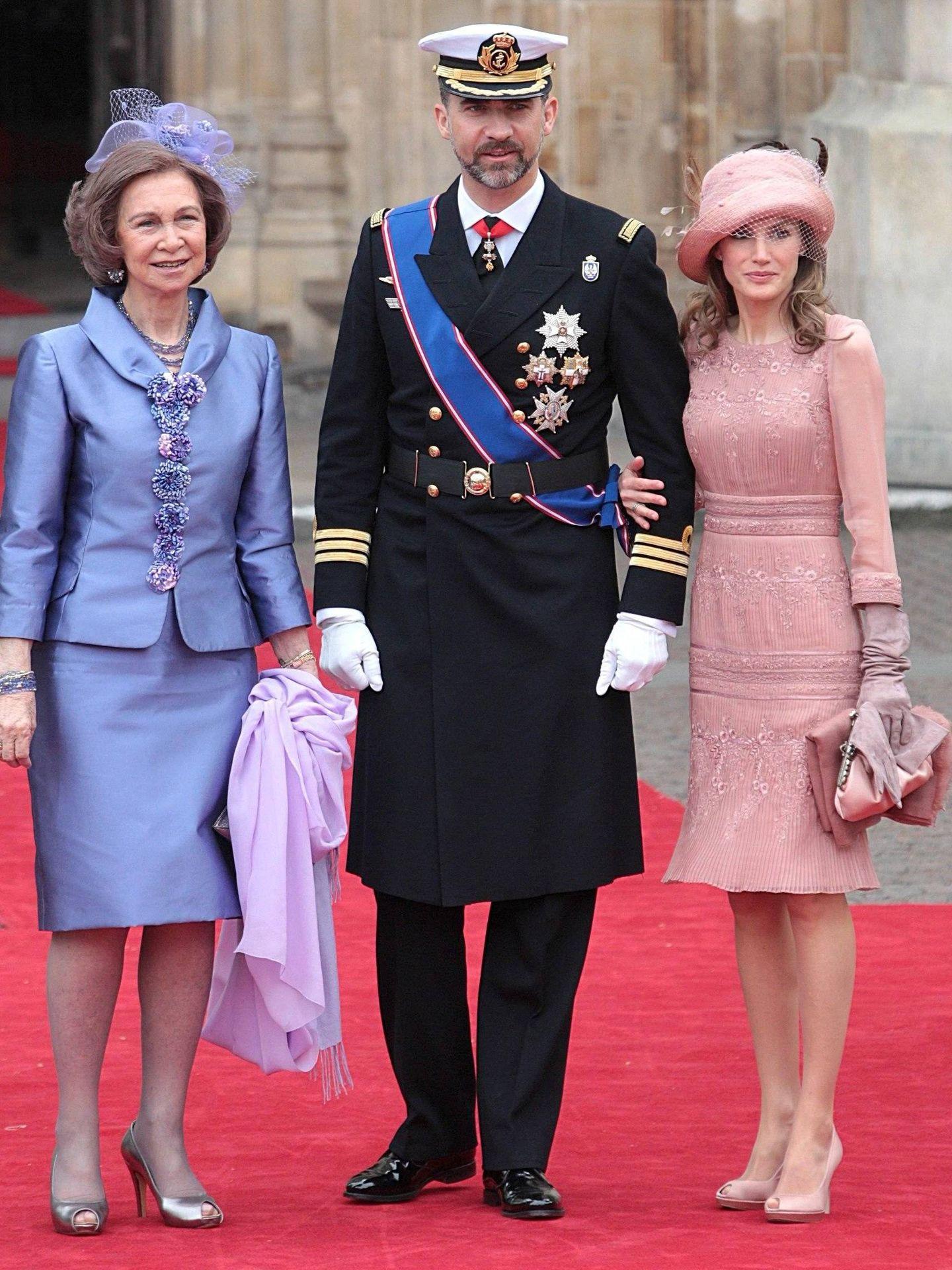 La reina Letizia. (CP)