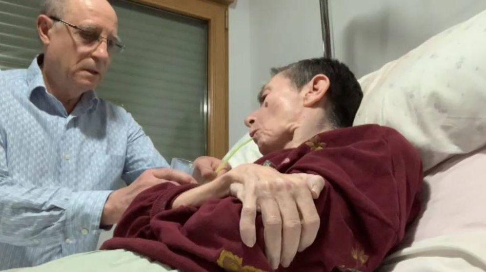 Foto: Ángel Hernández podría ser acusado de un delito de violencia machista por ayudar a morir a su mujer, enferma terminal. Foto: Atlas