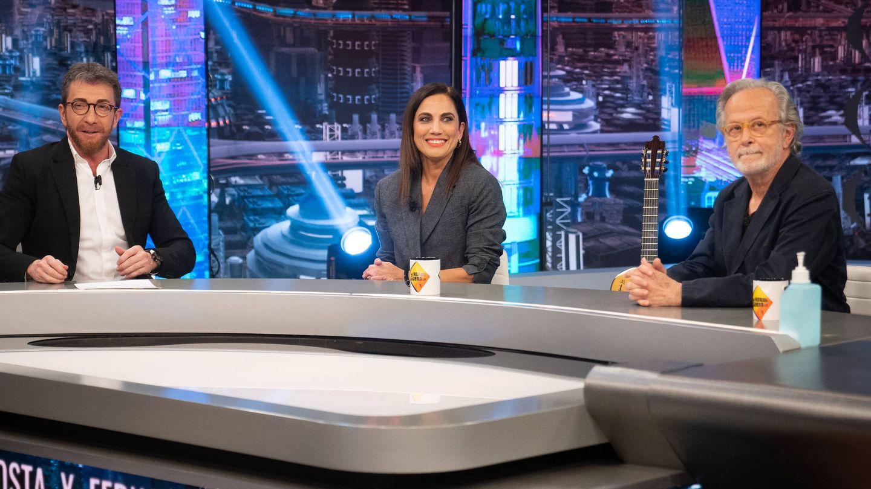 Fernando Colomo y Toni Acosta en 'El hormiguero'. (7yAcción)