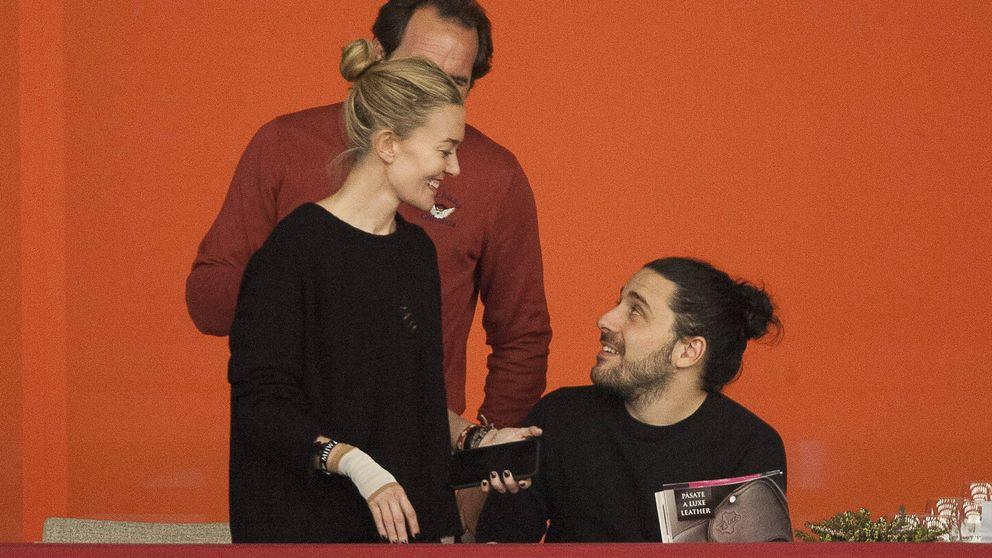 Marta Ortega y Carlos Torretta, en la hípica un día después que su exmarido