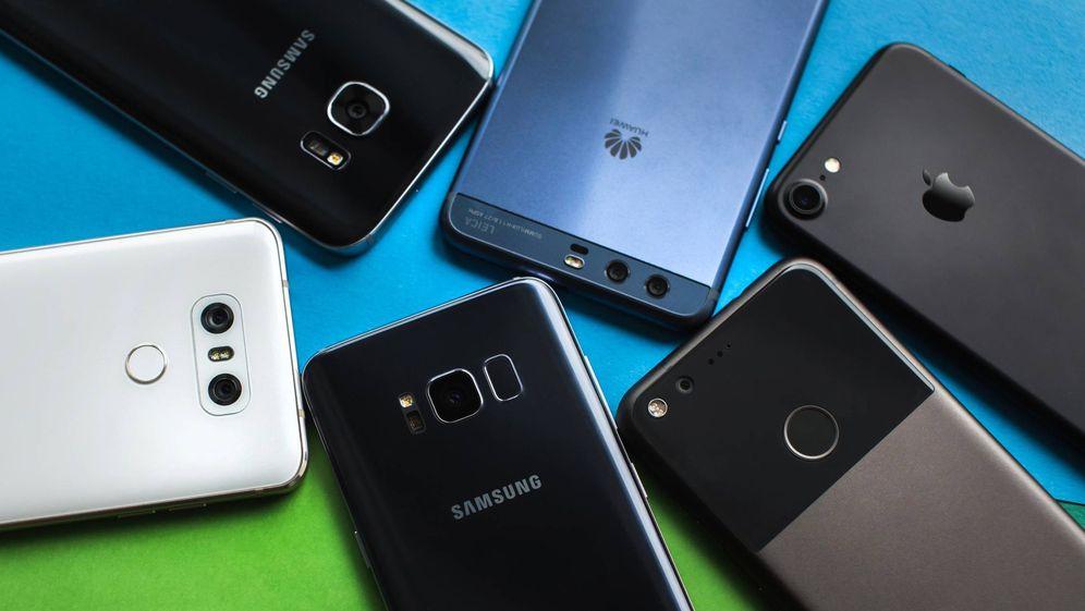 Foto: Algunos de los móviles que pueden interesarte.