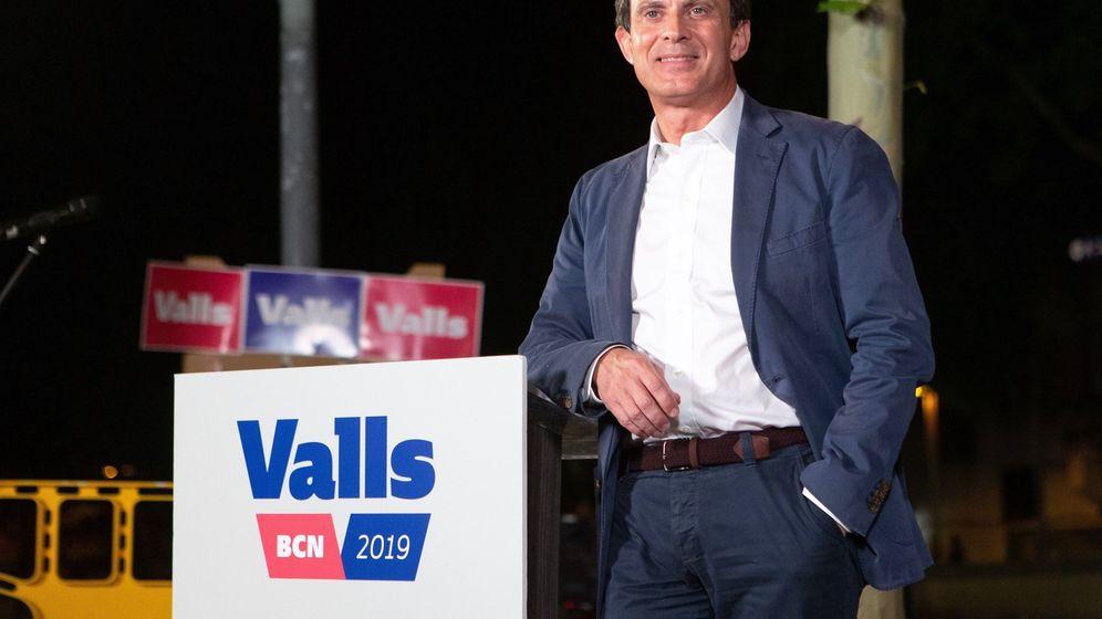 Foto: El candidato a la alcaldía de Barcelona por Ciudadanos, Manuel Valls (Efe)
