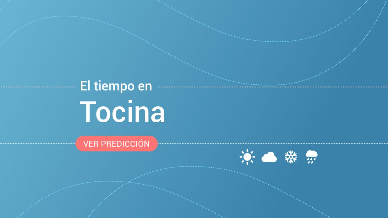 El tiempo en Tocina: esta es la previsión para este lunes, 9 de septiembre