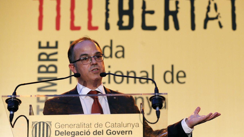 Turull defiende en Madrid sin incidentes que nada podrá parar el tsunami democrático