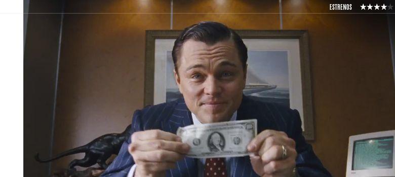 Foto: Leonardo Dicaprio interpreta al 'Lobo de Wall Street'.