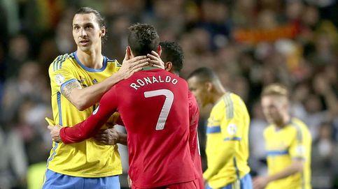 Ibra-Cristiano, dos egos y un destino:  batir sólo récords con Suecia y Portugal
