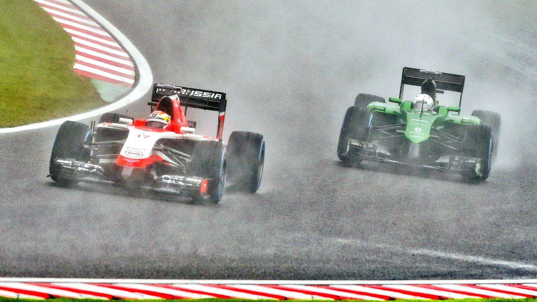 Foto: Marussia y Caterham, las dos cenicientas que tenía la Förmula 1 el año pasado (EFE)