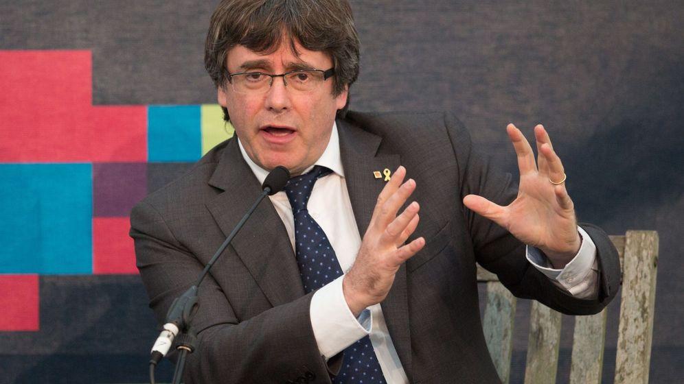 Foto: El expresidente de la Generalitat y líder de Junts per Catalunya (JxCAT), Carles Puigdemont. (EFE)
