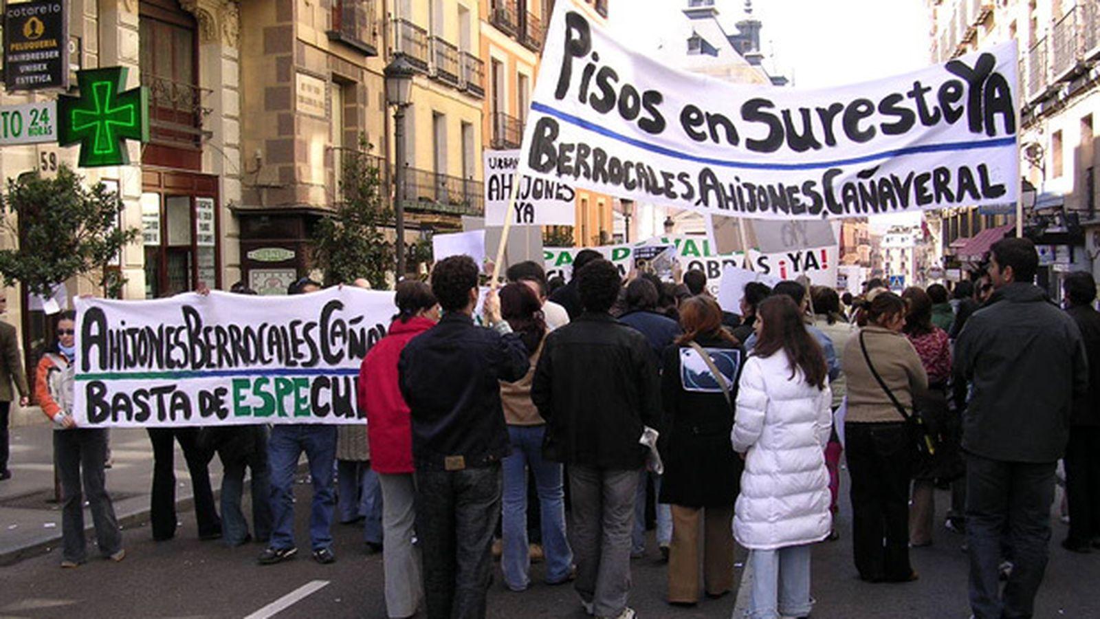 Foto: Foto: Asociación del sureste.com (Los Ahijones, Los Berrocales, El Cañaveral, Los Cerros)