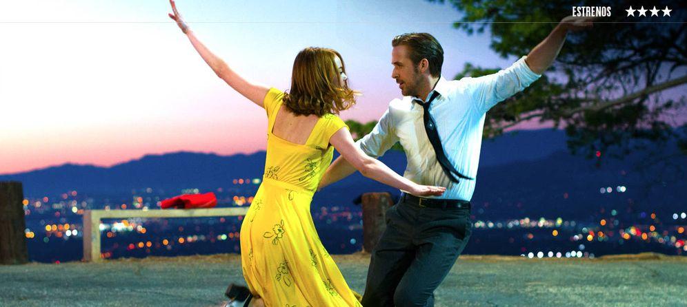 Foto: Emma Stone y Ryan Gosling, en 'La La Land. La ciudad de las estrellas'.