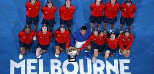 Post de La generosidad de Djokovic con los que no pudieron ver la final y recogepelotas