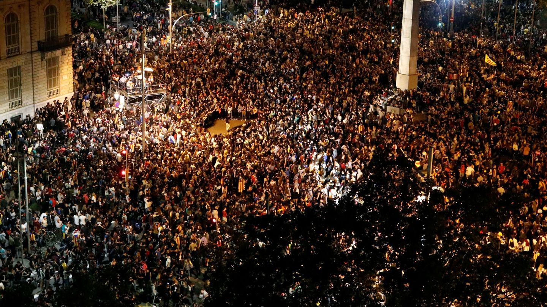 13.000 personas congregadas en Barcelona. (Reuters)
