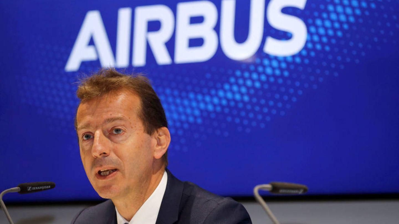 El CEO de Airbus, en un acto de la compañía. (Reuters)