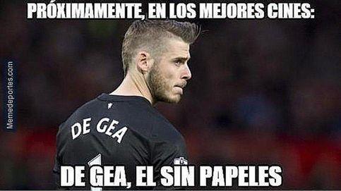 Los mejores memes del no fichaje de De Gea