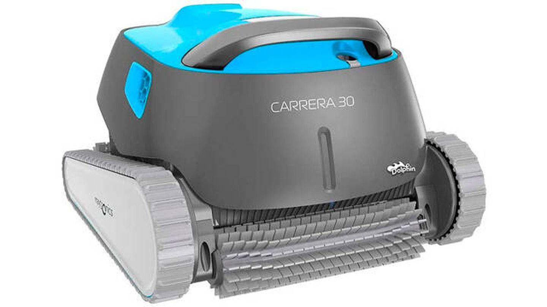 Robot limpiafondos de piscina automático Dolphin Carrera 30