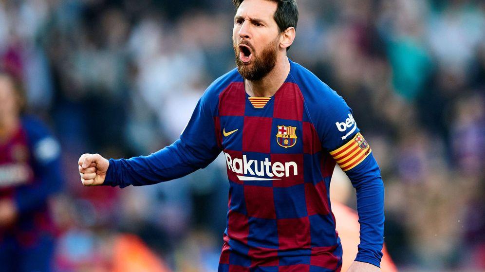 Foto: Leo Messi llevaba tres semanas sin marcar. (EFE)