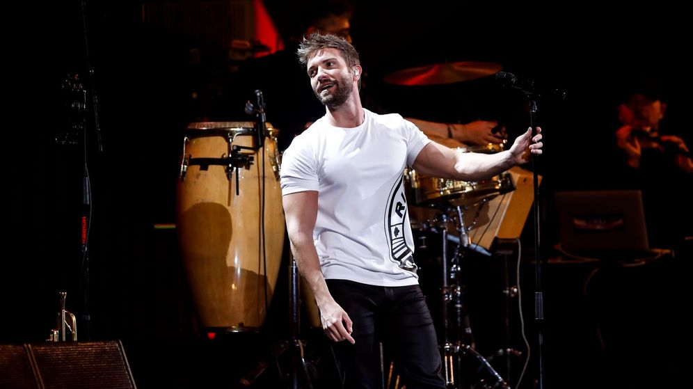 Foto: El cantante Pablo Alborán durante un concierto. (EFE)