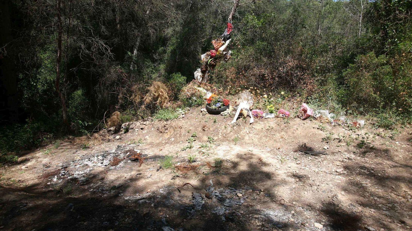 Foto: El lugar donde se encontró el cadáver. (EFE)