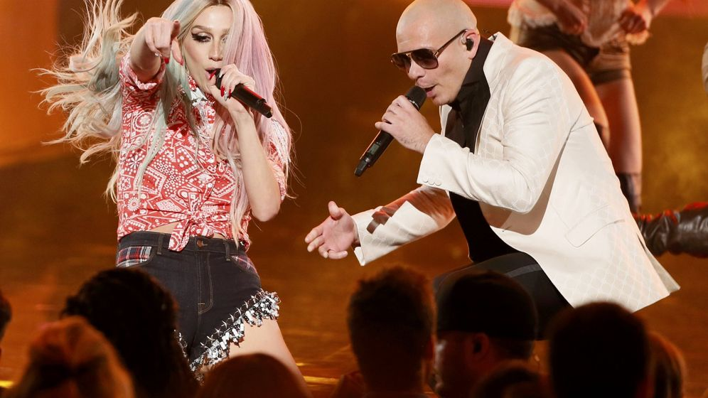 Foto: Pitbull canta Timber con Ke$ha en Los Ángeles