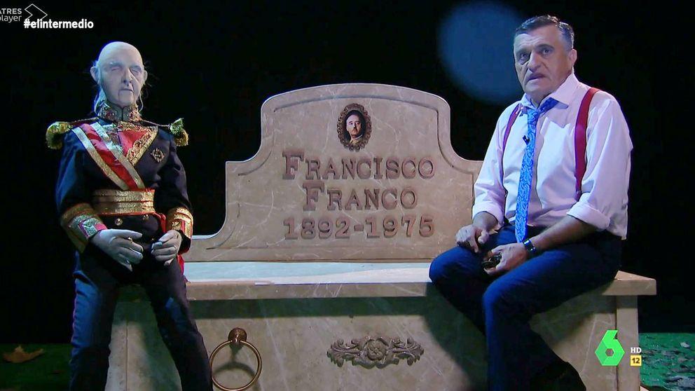 Wyoming ('El intermedio') presenta a Franco su nuevo lugar de descanso