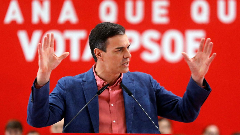 Sánchez pasa página del lío de los debates y llama al voto útil en el esprint final del 28-A