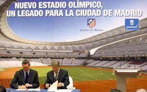 'La Peineta' empezará a transformarse en el estadio del Atlético en seis meses