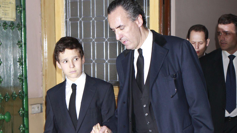 Foto: Jaime de Marichalar junto a su hijo Froilán (Gtres)