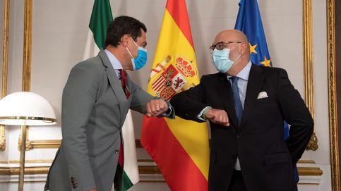 Vox golpea en Andalucía y alarga la agonía del 'Presupuesto covid'