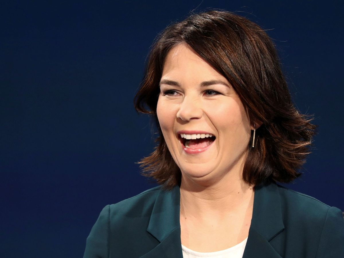 Foto: La candidata de los Verdes alemanes, Annalena Baerbock (Reuters)