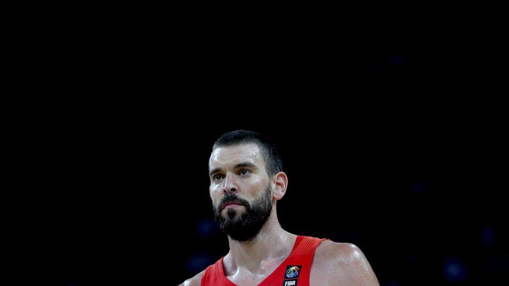 Foto: Tenía muchas ganas de jugar bien, dijo Marc Gasol tras la victoria ante Alemania en cuartos de final del EuroBasket. (EFE)