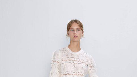 Este precioso jersey de punto calado de Zara puede ser tuyo por solo 13 euros