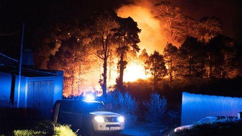 Estabilizado el incendio de La Palma tras la aparición de la lluvia