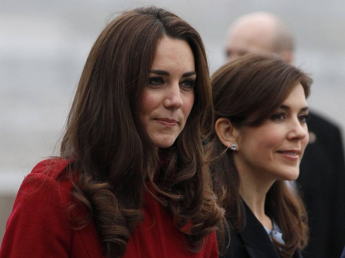 Foto: Kate Middleton y Mary de Dinamarca, en 2011. (Cordon Press)