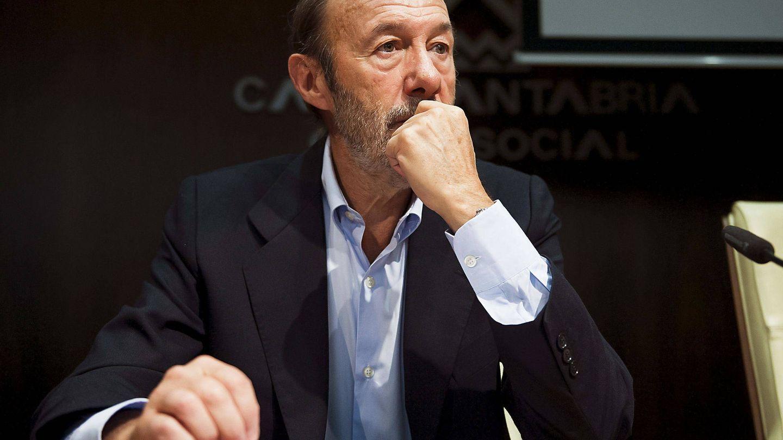El exsecretario general del PSOE Alfredo Pérez Rubalcaba. (EFE)