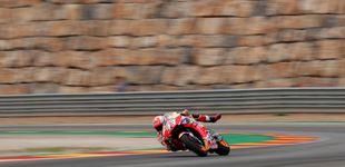 Post de La supuesta 'prisionera' de Marc Márquez (Honda) y el irreconocible Jorge Lorenzo