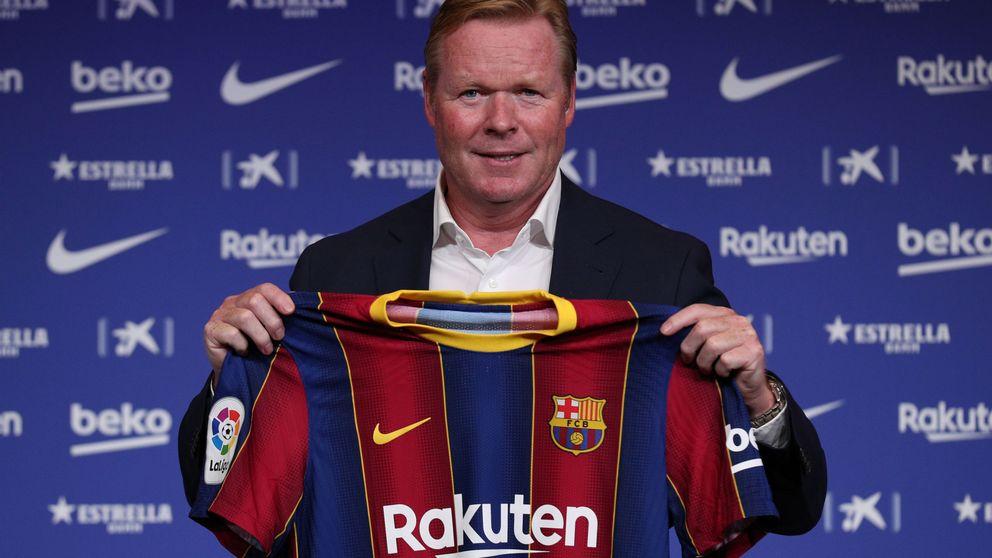Koeman deja un recado a Messi: Solo quiero trabajar con gente que quiera estar aquí