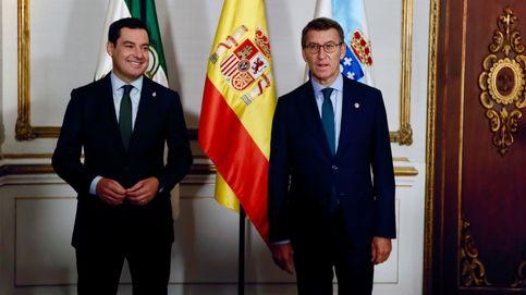 Moreno y Feijóo silencian sus diferencias y alertan contra el privilegio a Cataluña