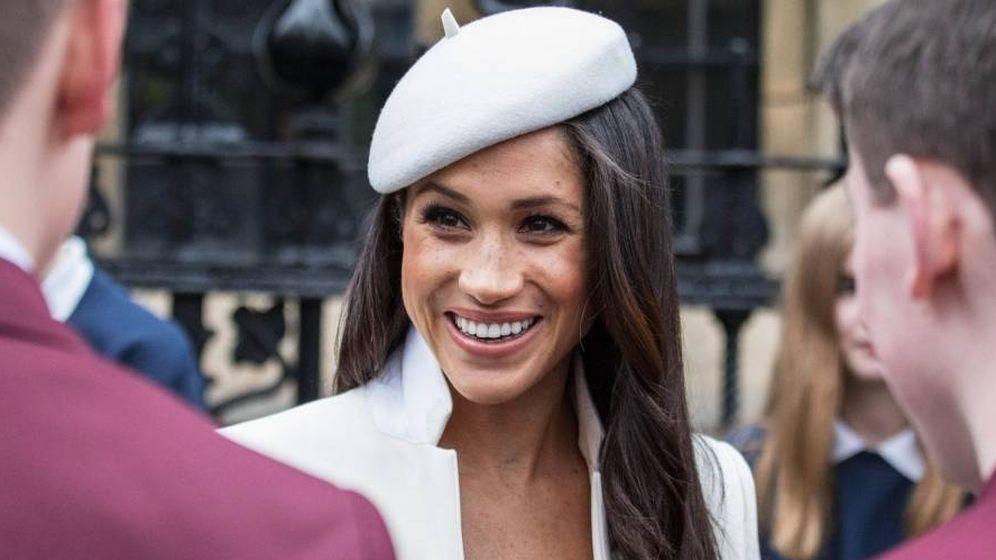 Foto: Imagen que acompaña al perfil oficial de Meghan Markle. (www.royal.uk)