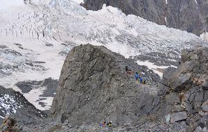La Arista de Goûter, primera etapa para alcanzar el Mont Blanc