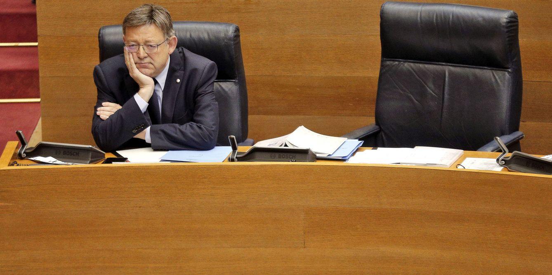 Foto: El 'president' valenciano, Ximo Puig, el pasado 6 de julio, al comienzo del pleno de Les Corts. (EFE)