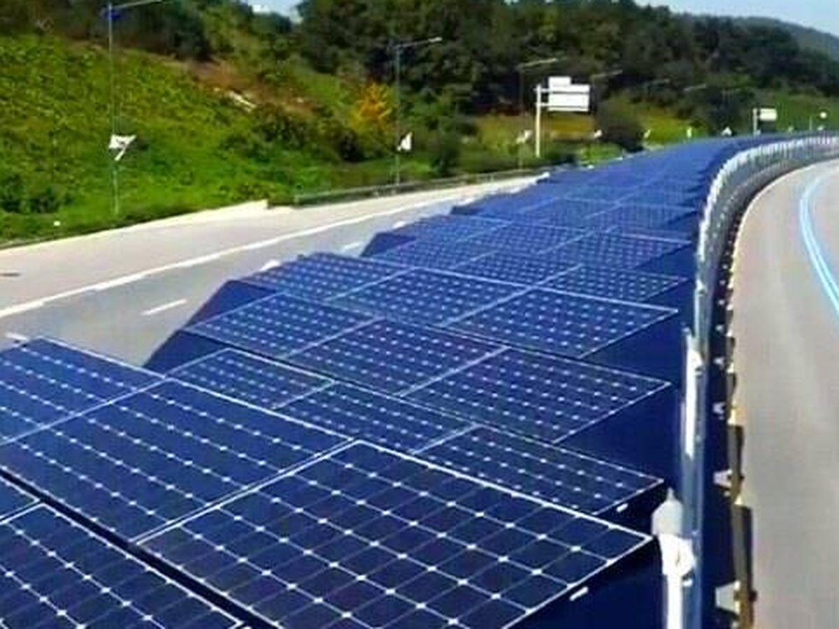 Foto: La autopista solar para bicicletas en Corea del Sur.