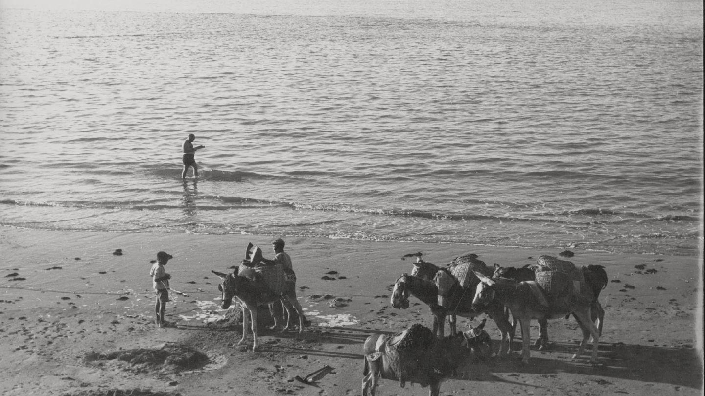 Las playas andaluzas en los 60
