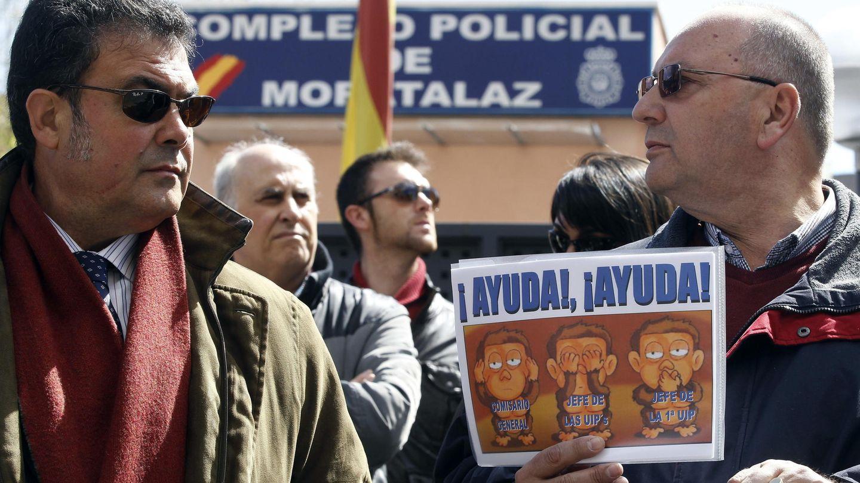 Antidisturbios piden depurar responsabilidades por los incidentes del 22M. (EFE)