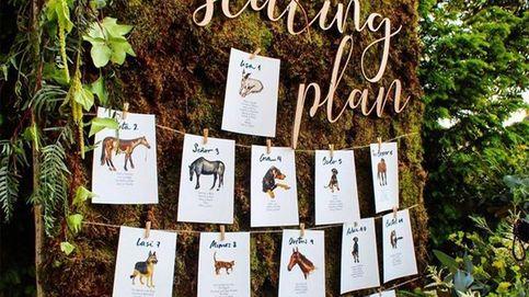 Ideas originales y bonitas para el 'seating plan' de tu boda