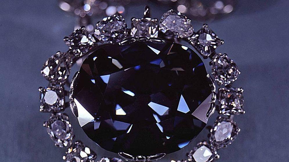 Foto: El diamante Hope, uno de los más bellos nunca antes encontrados. (CC/Wikimedia Commons)