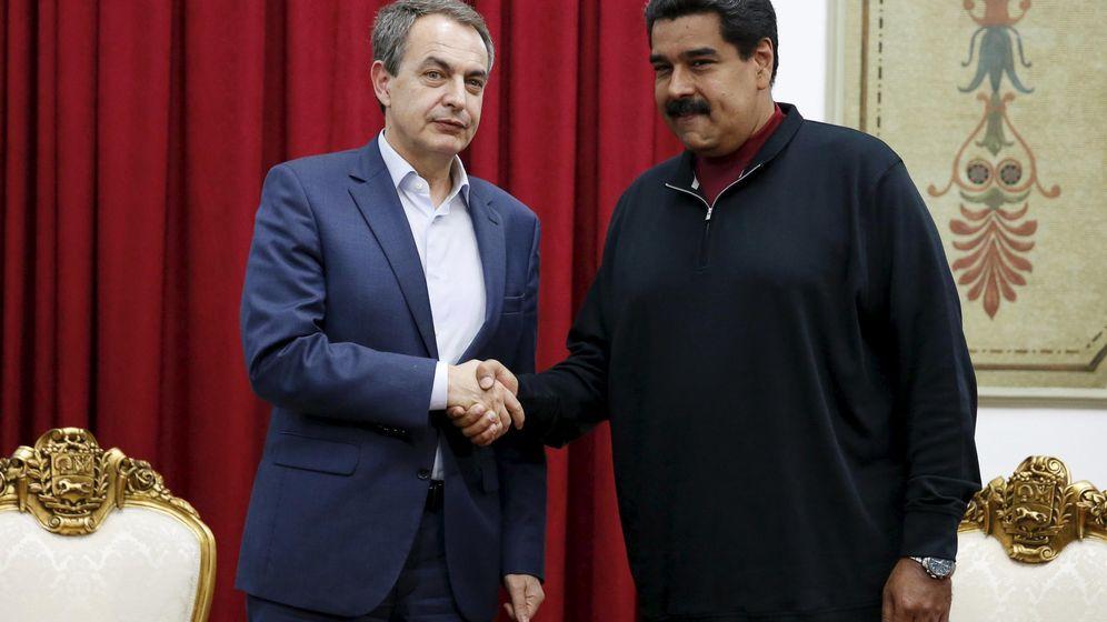 Foto: José Luis Rodríguez Zapatero junto al presidente de Venezuela, Nicolás Maduro, el pasado 5 de diciembre. (Reuters)