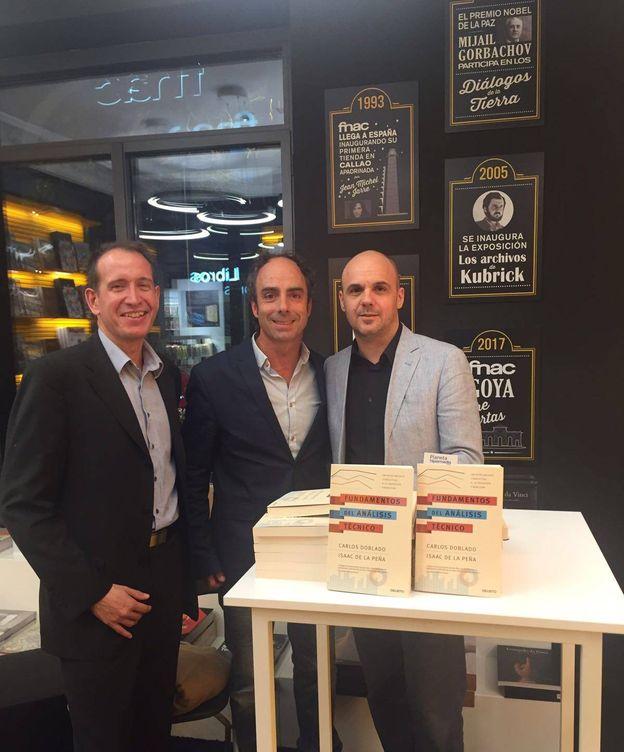Foto: Isaac de la Peña, Javier Molina y Carlos Doblado.