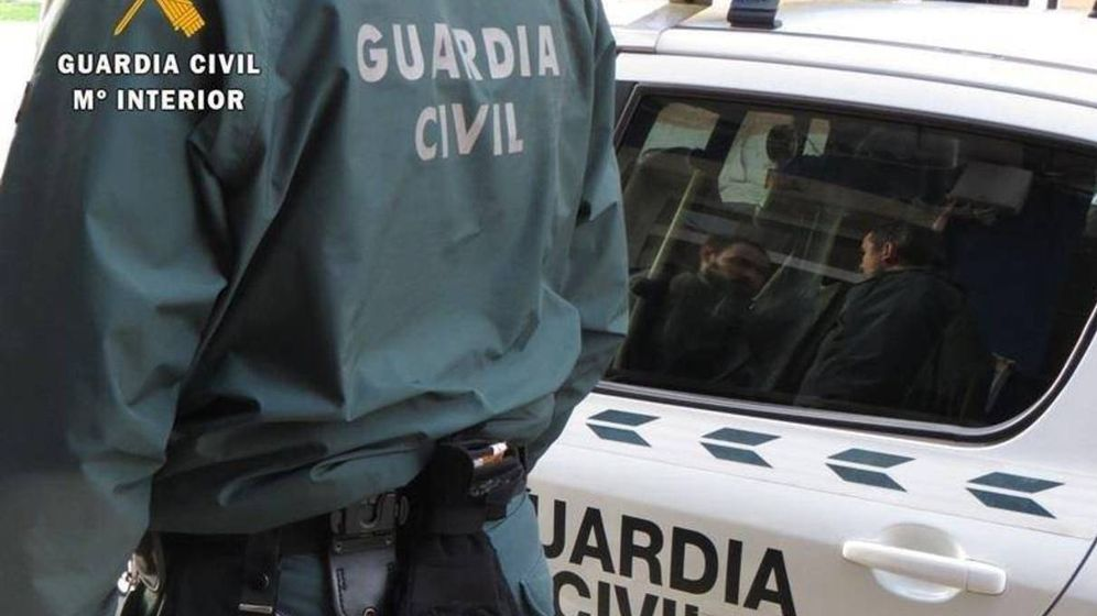 Foto: Imagen de archivo de un agente de la Guardia Civil